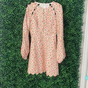 Gorgeous long sleeve fit and flare, never worn